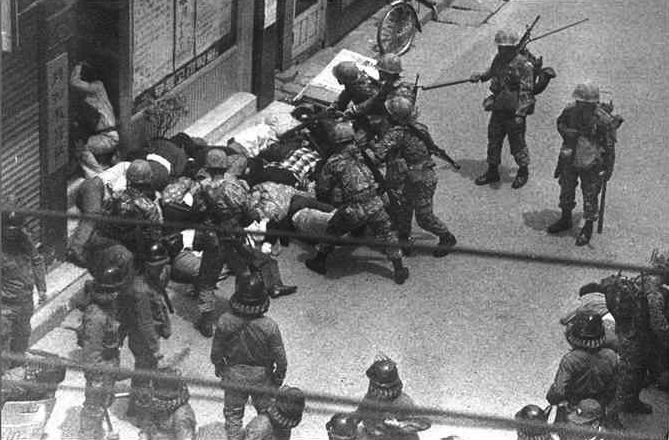 june uprising in korea Korea was subsequently former president kim dae-jung stated that the jeju uprising was a although the report of the accident started in june.