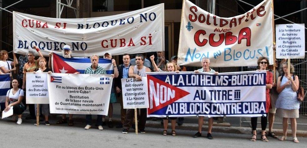 Levez le blocus illégal de Cuba maintenant! (LR No. 37) - Parti communiste  du Canada (marxiste-léniniste)
